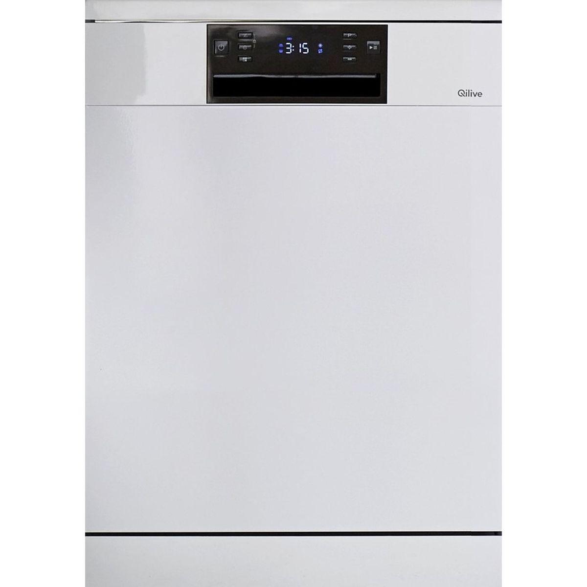 Lave-vaisselle pose libre 134913 Q.6598, 14 couverts, 60 cm, 44 dB, 8 programmes