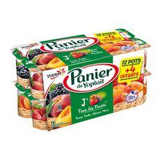 YOP Yop panier de fruits 12x130g +4 offferts