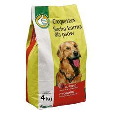 POUCE Croquettes au boeuf pour chien 4kg