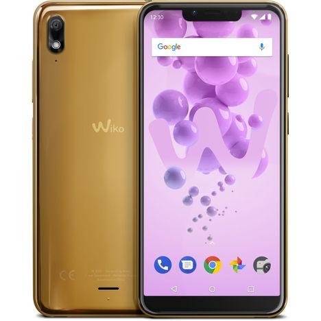 WIKO Smartphone - VIEW 2 Go - 32Go - Ecran 5.93 pouces - Or - 4G - Double SIM