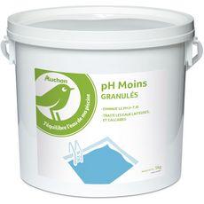 AUCHAN Auchan Granulés en ph moins pour piscine 5kg 5kg