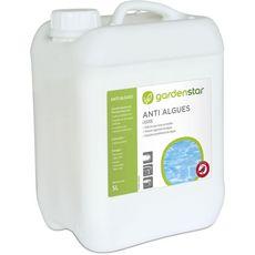 GARDENSTAR Gardenstar Anti algues préventif liquide pour piscine 5l 5l