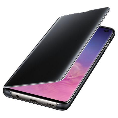 SAMSUNG Etui à rabat Clear View Cover pour Galaxy S10 - Noir
