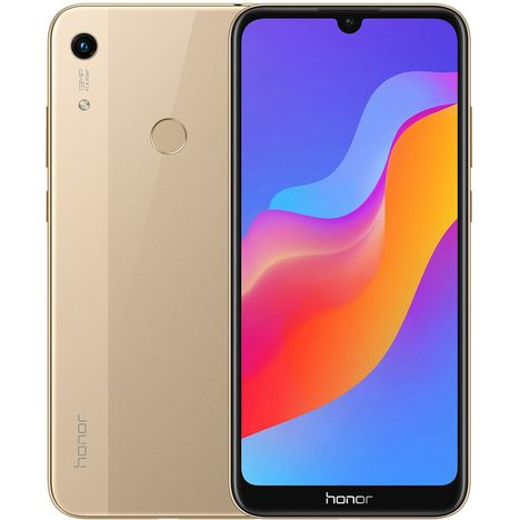 HONOR Smartphone 8A - 32 G0 - 6.1 pouces - Or - 4G