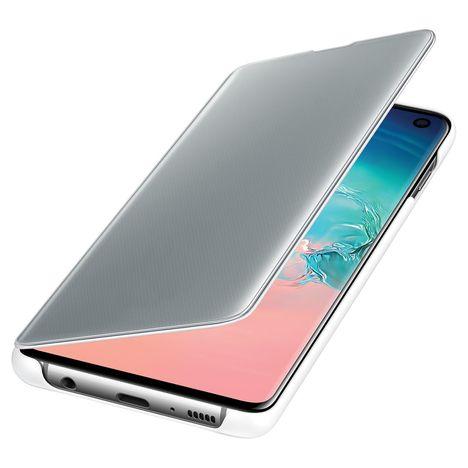 SAMSUNG Etui à rabat Clear View Cover pour Galaxy S10 - Blanc