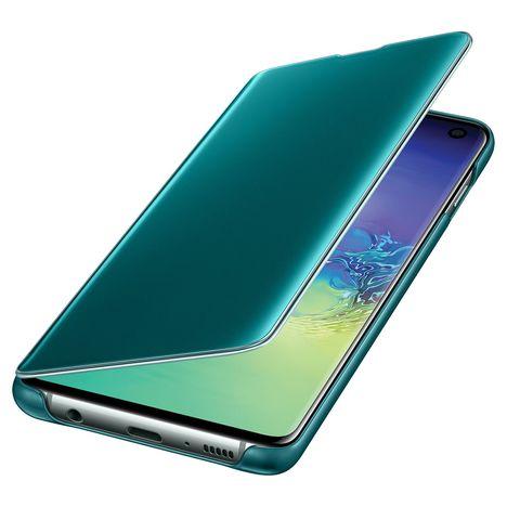 SAMSUNG Etui à rabat Clear View Cover pour Galaxy S10 - Vert