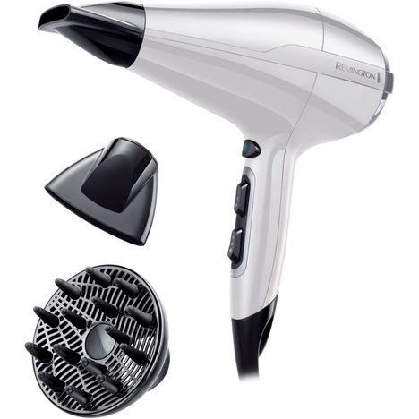 REMINGTON Sèche cheveux AC5913W Pro-Air AC Compact - Blanc/noir