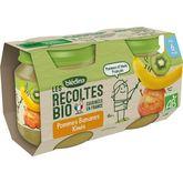 Blédina compote pomme banane kiwi bio 2x130g dès 6 mois