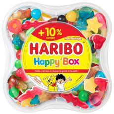 Haribo happy box 850g + 10% offert