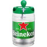 Heineken bière bonde fût pression 5°-5l