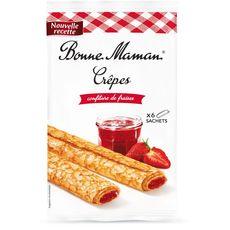 Bonne Maman crêpes confiture de fraises x6 192g
