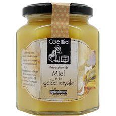 Les Apiculteurs Associés miel et gelée royale 375g