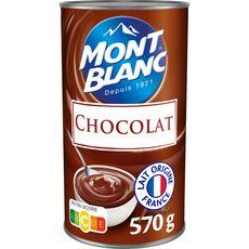 MONT BLANC Crème dessert saveur chocolat 570g