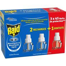 Raid recharge électrique liquide 45nuits x2 +1offert
