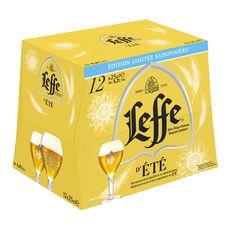 Abbaye de Leffe bière d'été 12x25cl