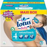 Lotus baby changes ouverts 7/14kgs x76 taille 4