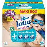 Lotus baby changes ouverts 10/16kgs x72 taille 4+