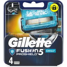 Gillette lames fusion proshield chill x4