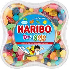 HARIBO Assortiment de bonbons dragolo 750g