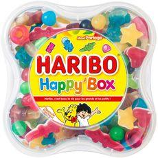 HARIBO Happy'box assortiment de bonbons 600g