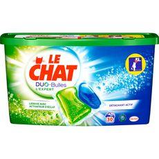 Le Chat liquide duo bulles expert x30 lavages -0,75cl