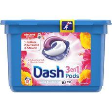 Dash liquide perles coquelicot écodoses x18 -0,475l