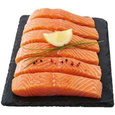 Pavé de saumon filière responsable x6 750g