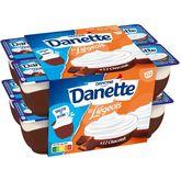 Danone Danette liégeois chocolat 12x100g