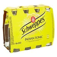 Schweppes indian tonic 8x25cl