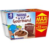 Nestlé ptit gourmand chocolat 12x100g