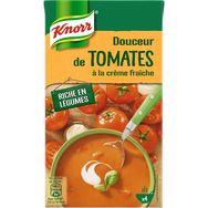 Knorr soupe liquide tomates crème fraîche 1l lot de 2