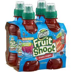 Teisseire fruit shoot fruits rouges 4x20cl