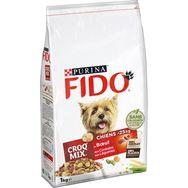 Fido Fido Croq mix croquettes au boeuf céréales et légumes pour chien 1kg
