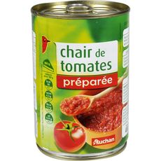 Auchan chair de tomates nature 400g