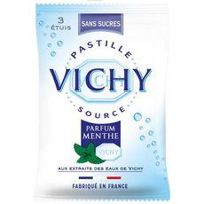 Vichy sans menthe tripack pastille 3 étuis 19g -57g