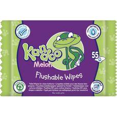 Pampers KANDOO Kandoo Lingettes nettoyantes pour change au melon pour bébé x55