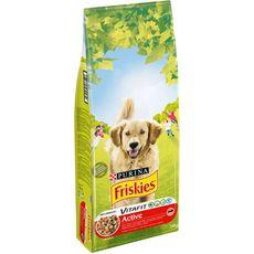 FRISKIES Active croquettes au boeuf pour chien 18kg