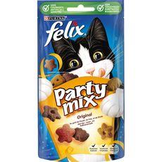 Felix Friandises party mix au poulet foie dinde pour chat 60g