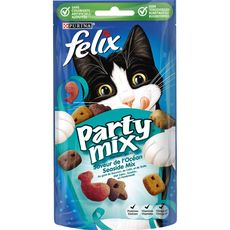 FELIX Friandises party mix au samon colin truite pour chat 60g