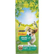 FRISKIES Light mini menu croquettes au poulet et aux légumes pour chien 2kg
