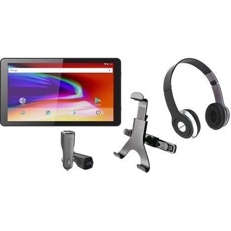 LOGICOM Tablette tactile TAB 106 Pack Car 10 pouces Noir 8 Go