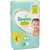 Pampers couches new baby géant 4/8kg x54 taille 2