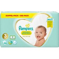 Pampers Premium protection couches taille 3 (6-10kg) x66