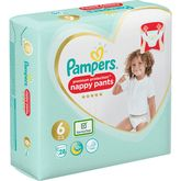 Pampers active fit pants geant 15kg+ x28 taille 6