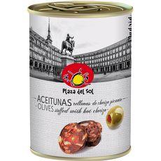 PLAZA DEL SOL Plaza Del Sol olives farcies au chorizo piquant 120g