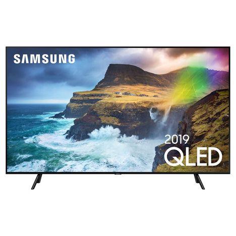 SAMSUNG 55Q70R TV Full LED Silver QLED 4K 138 cm Smart TV PRODUIT NON COMMANDABLE