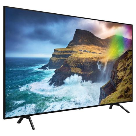71f78688e03 55Q70R TV Full LED Silver QLED 4K 138 cm Smart TV SAMSUNG pas cher à ...