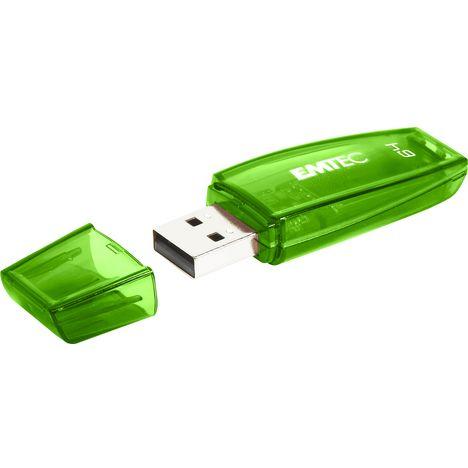 EMTEC Clé USB C410 64 Go USB 2.0 Vert