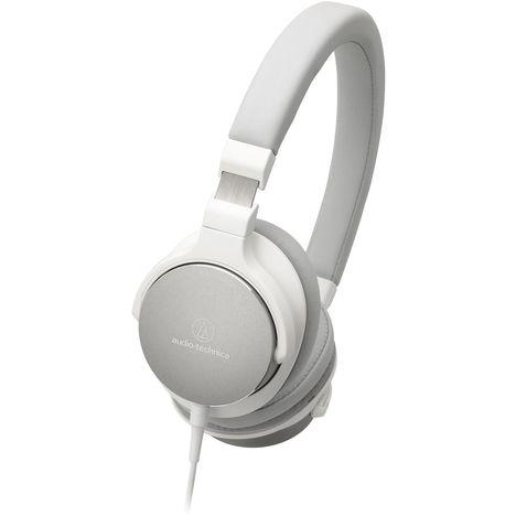 Casque Audio Filaire Blanc Ath Sr5 Audio Technica Pas Cher à
