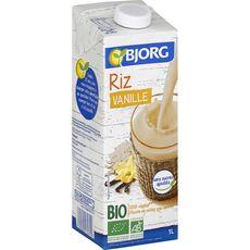 BJORG Bjorg boisson riz vanille bio 1l